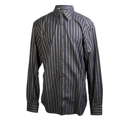Dolce and Gabbana Size 18-18.5 Striped Dress Shirt