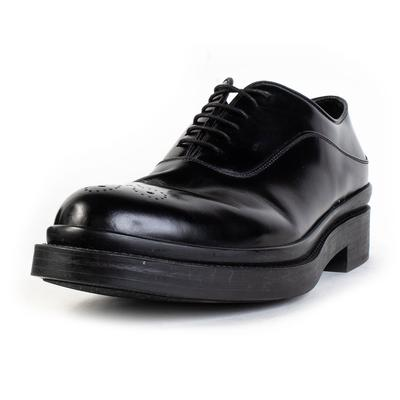 Prada Size 10.5 Black Dress Shoes