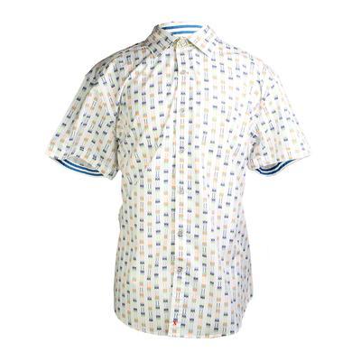 Robert Graham Size XXXL Short Sleeve Shirt