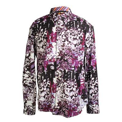Robert Graham Jimi Hendrix Size XL Limited Edition Long Sleeve Shirt