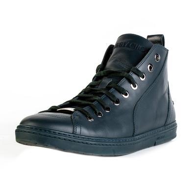 Jimmy Choo Size 11 Green Leather High Top Shoe