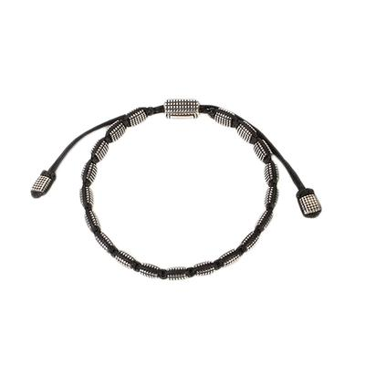 David Yurman Sterling Silver Tile Bracelet