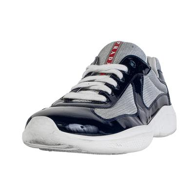 Prada Size 10 Navy Athletic Shoe