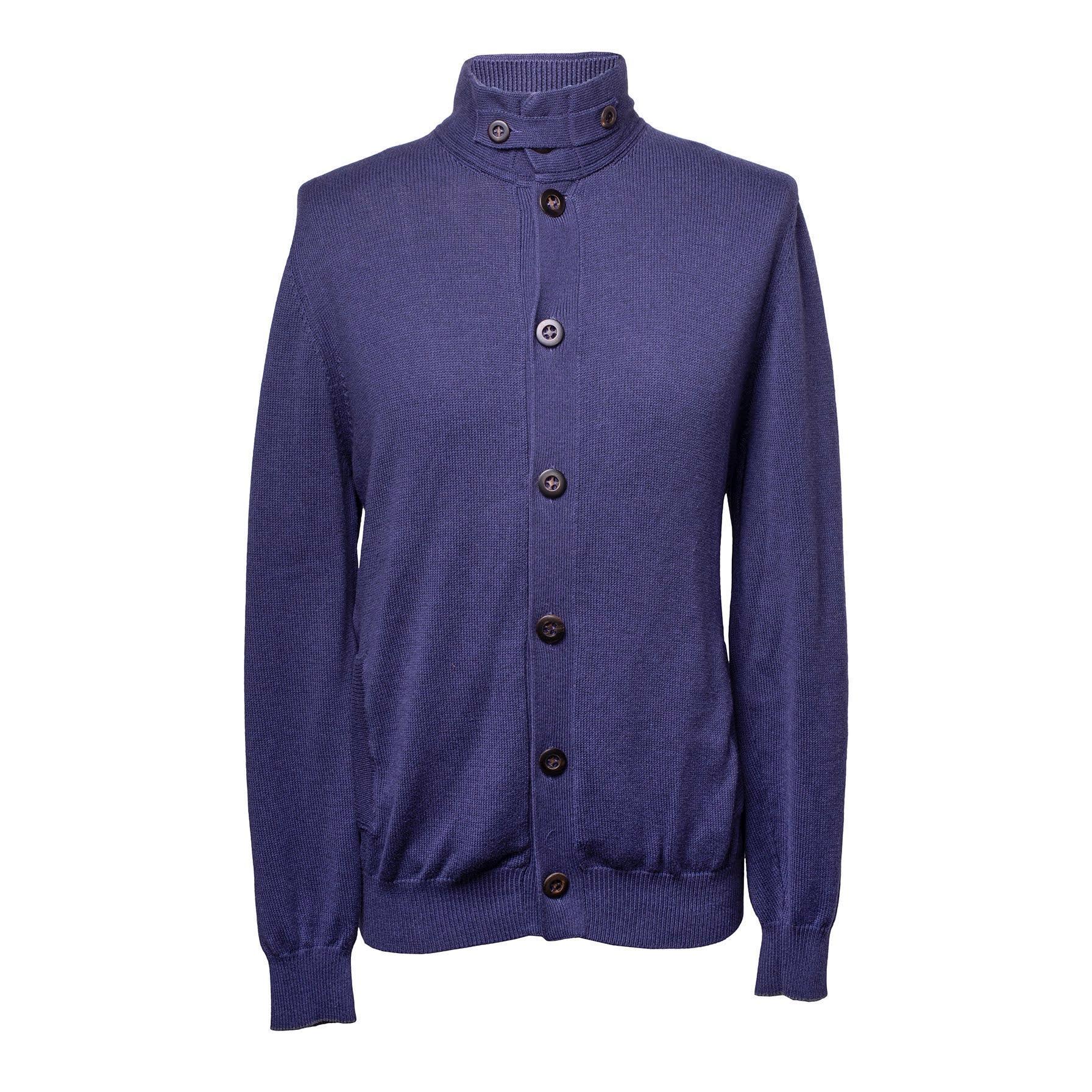 Brunello Cucinelli Size Xl Cotton Cardigan