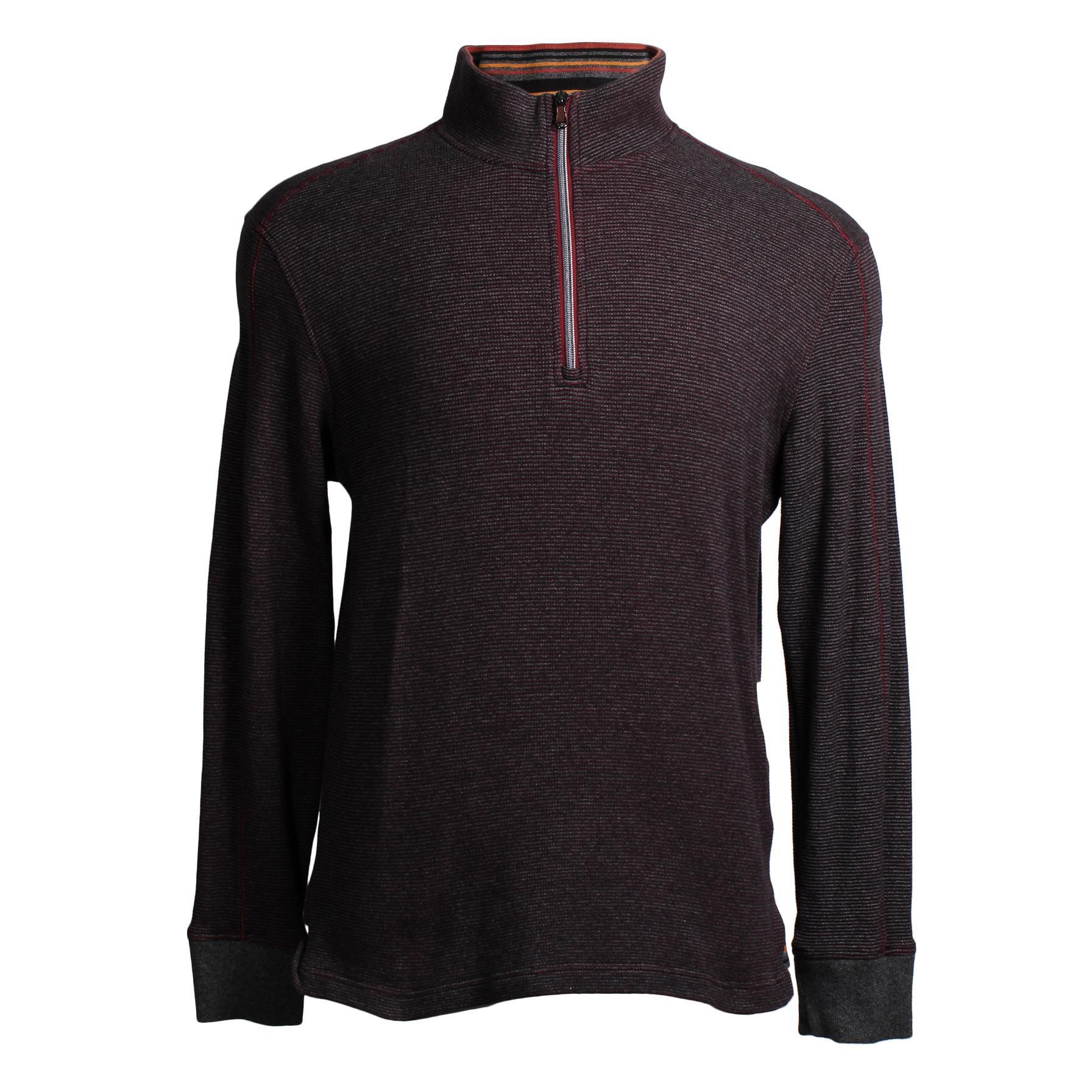 Robert Graham Size Large Zip Pullover