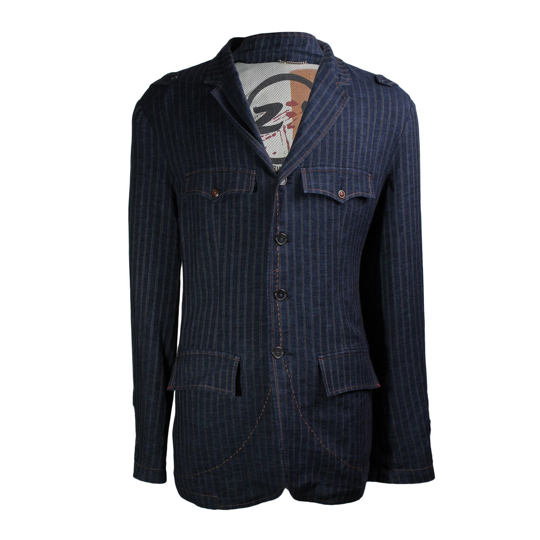 Robert Graham Size Xxl Striped Sport Coat