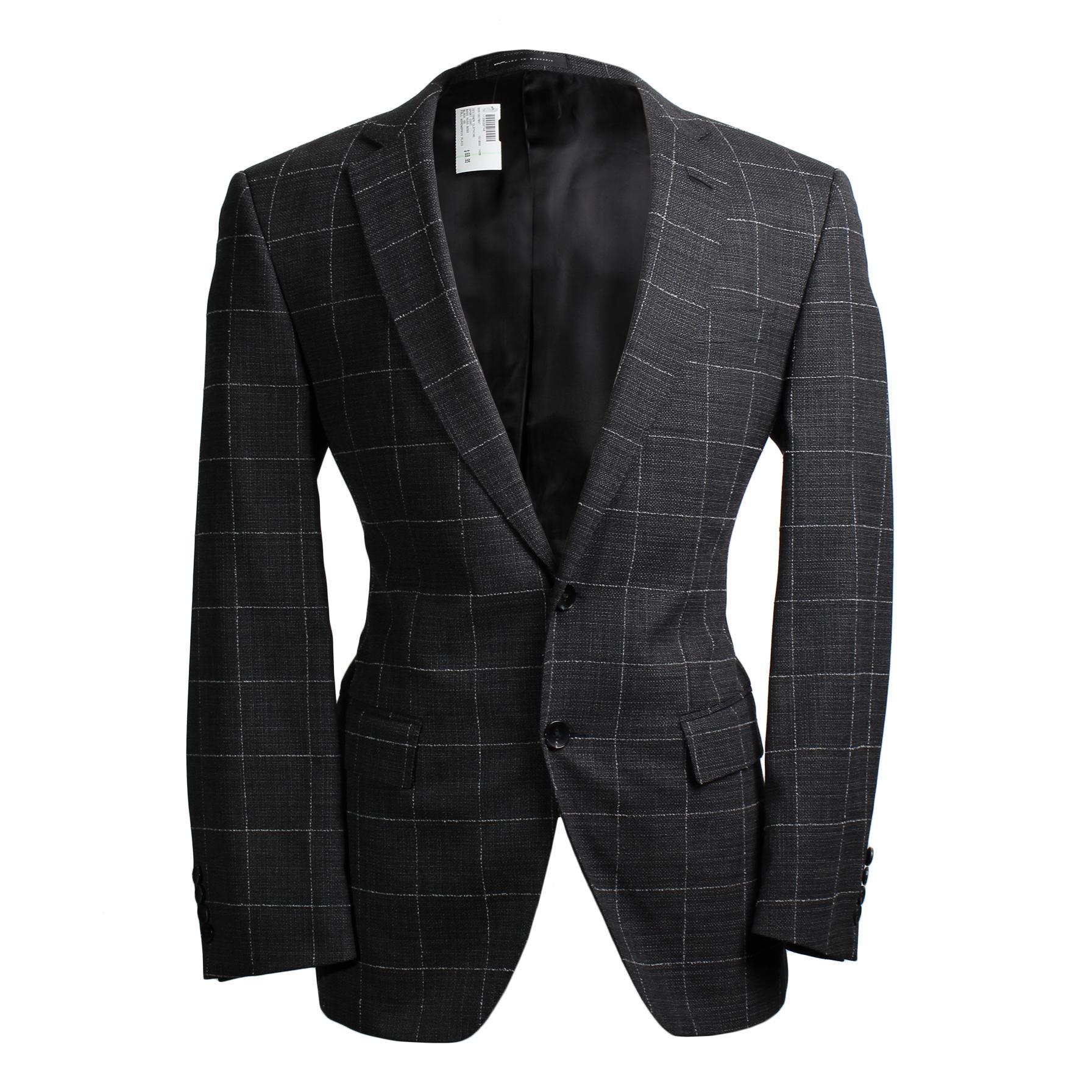 Boss Hugo Boss Grey Checked Blazer