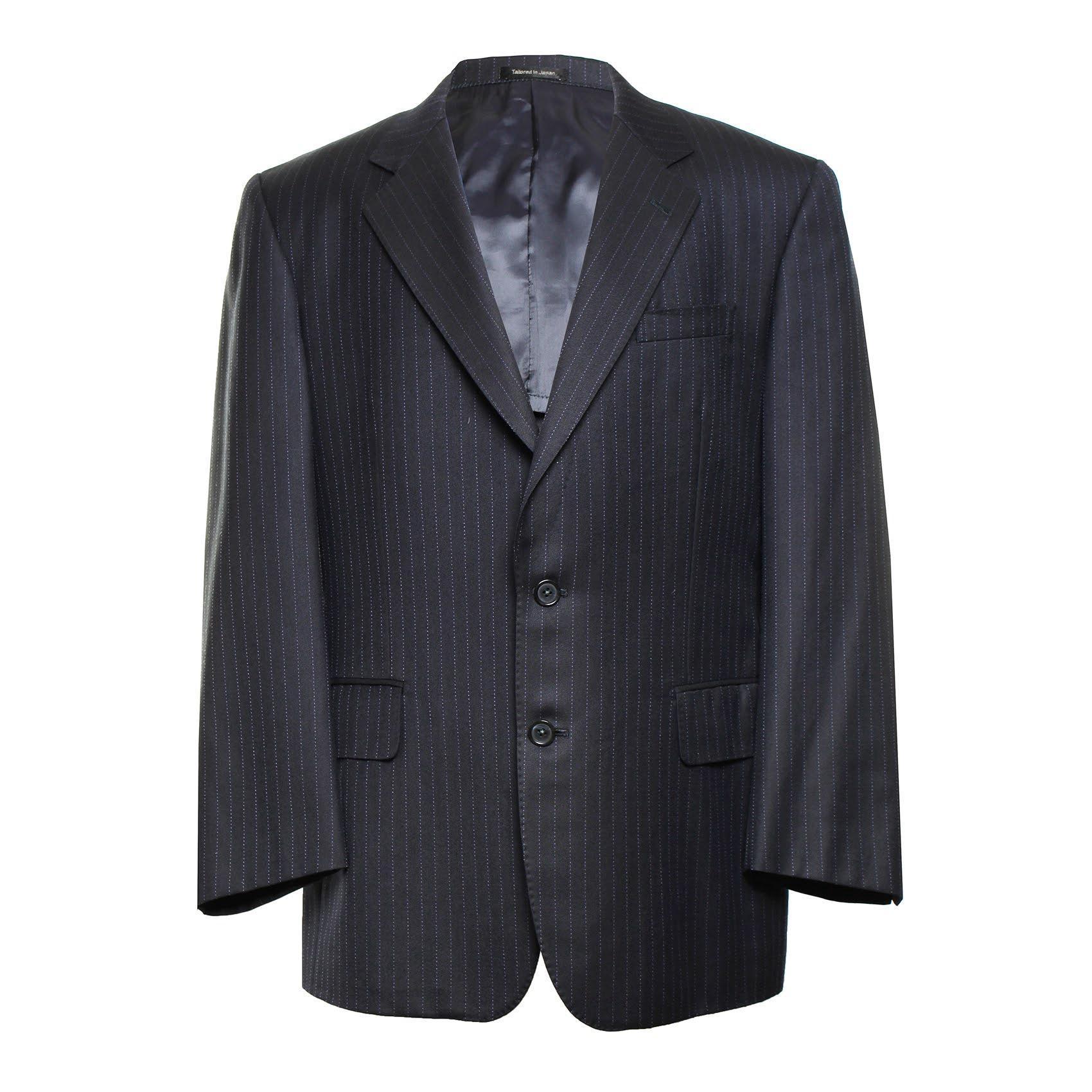 Givenchy Size Medium Navy Striped Blazer