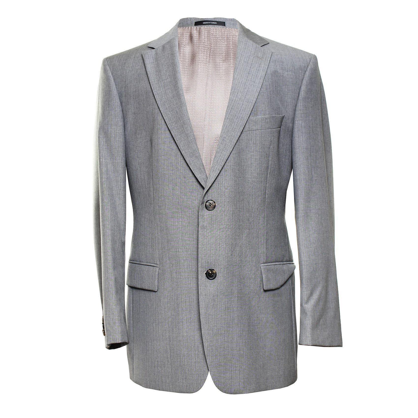 Boss Hugo Boss Size 42r Grey Sport Coat