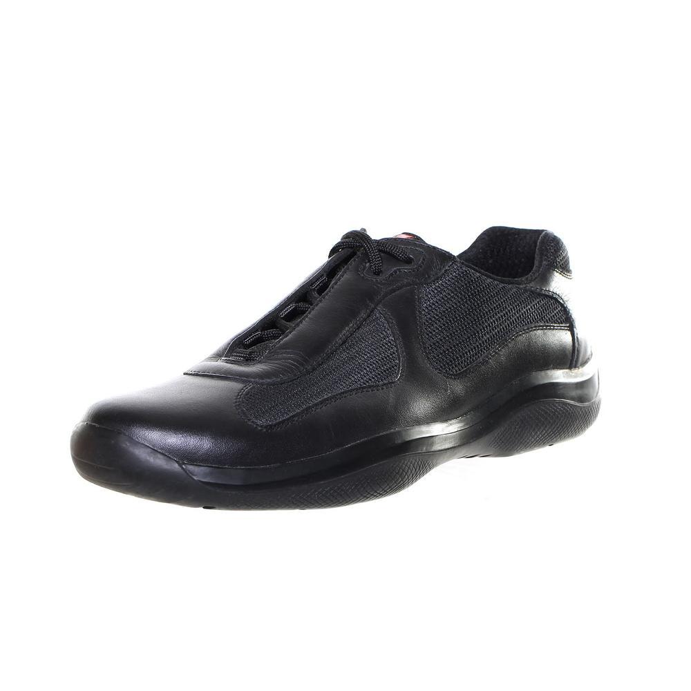 Prada Size 9.5 Black Sneakers
