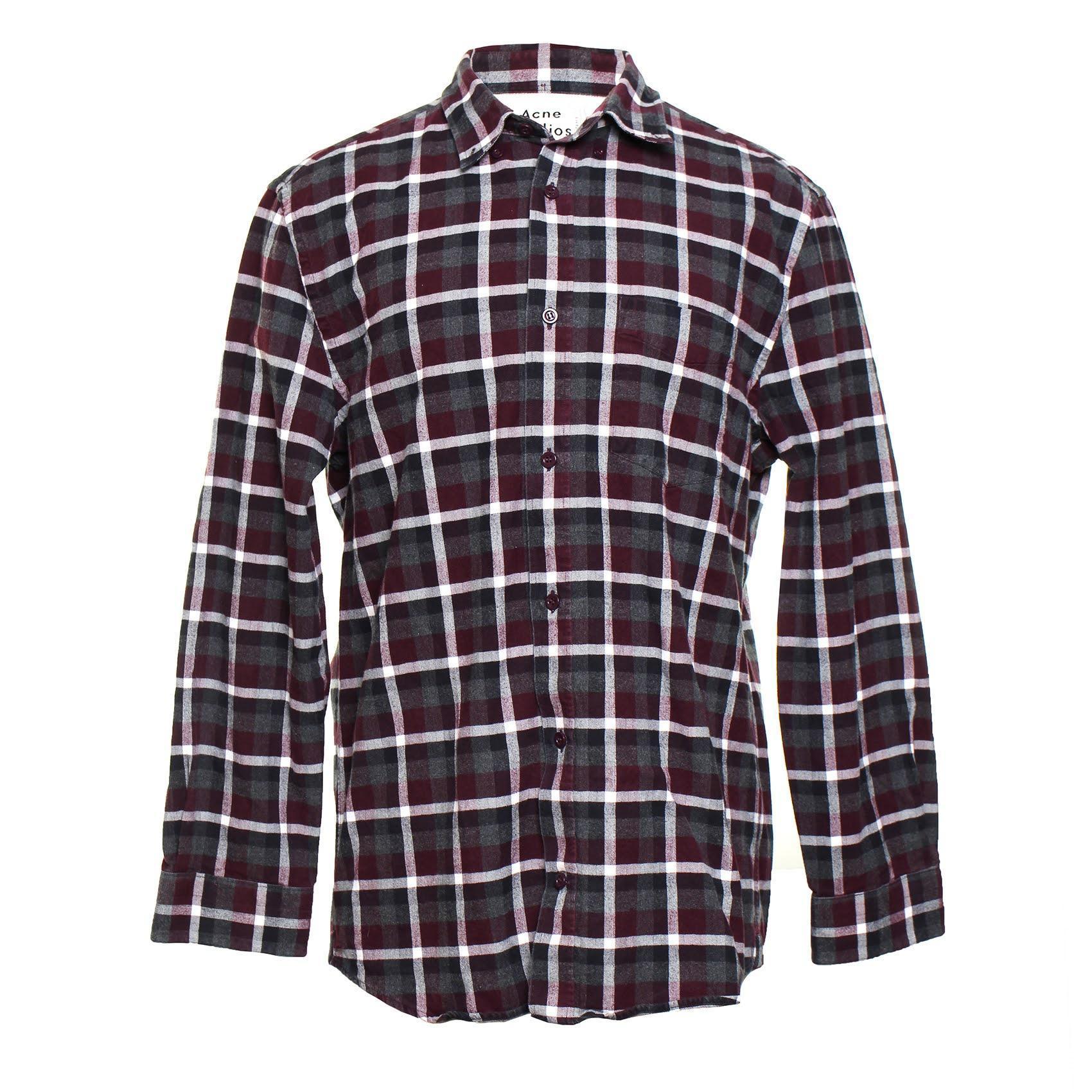 Acne Studios Size Medium Flannel