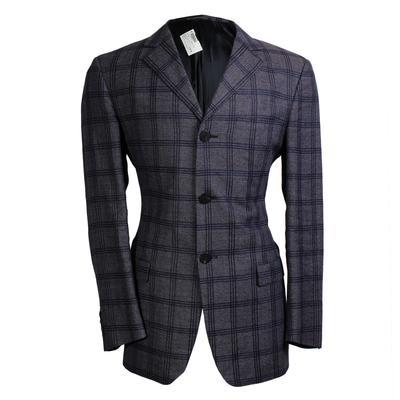 Versace Size 40 Classic V2 Plaid Blazer