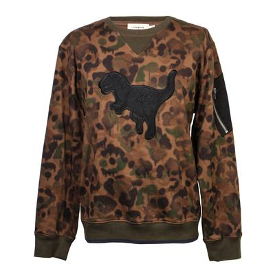 Coach Size XL Wild Beast Rexy Camo Sweatshirt