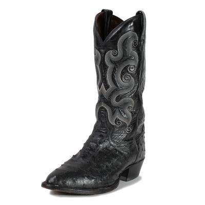 Tony Lama Size 9.5 Ostrich Cowboy Boots