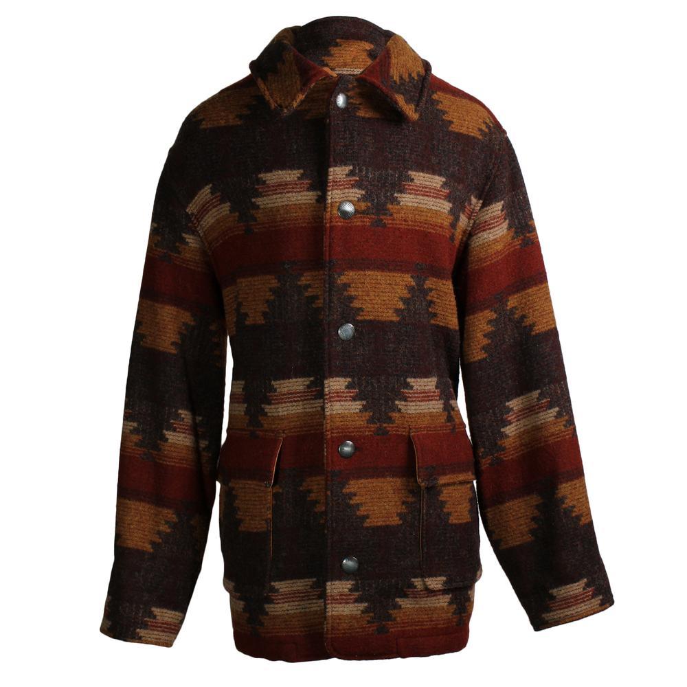 Woolrich Size Large Southwest Blanket Coat