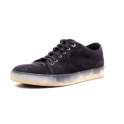 Lanvin Size 10 Suede Low Top Sneaker