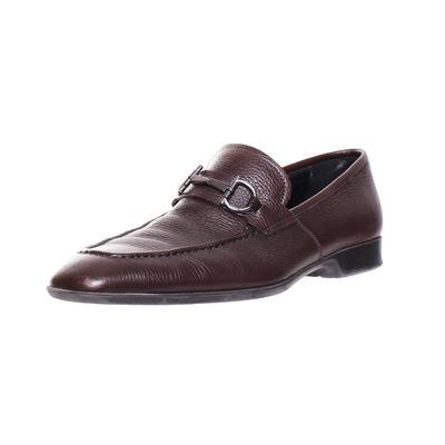 Salvatore Ferragamo Size 9 Gancini Bit Loafers