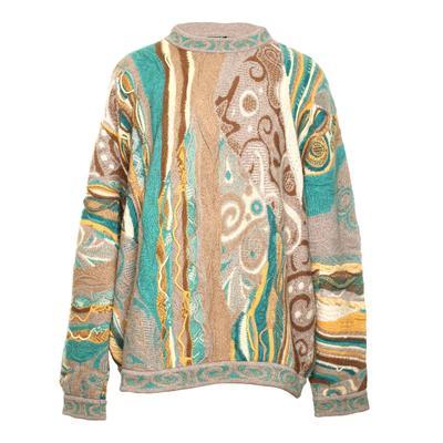 Vintage Coogi Size XL Cashmere Sweater