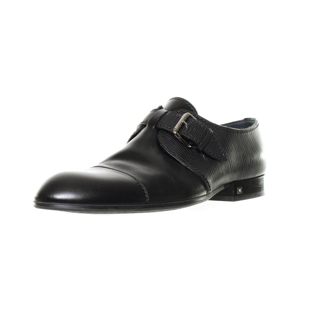 Louis Vuitton Size 9.5 Epi Leather Monk Loafers