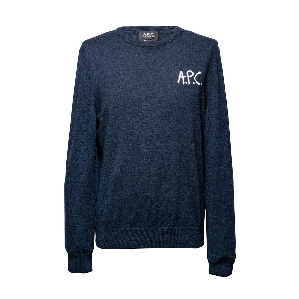 Apc Size Medium Logo Sweater