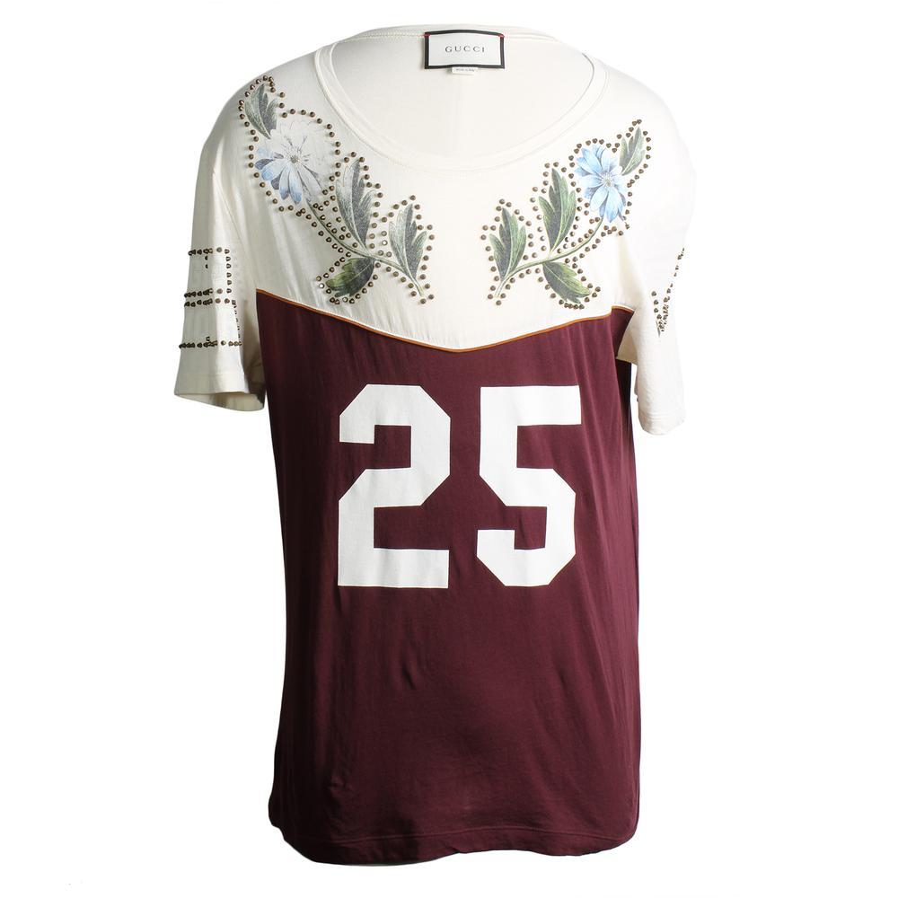 Gucci Size Medium Studded Oversized T Shirt