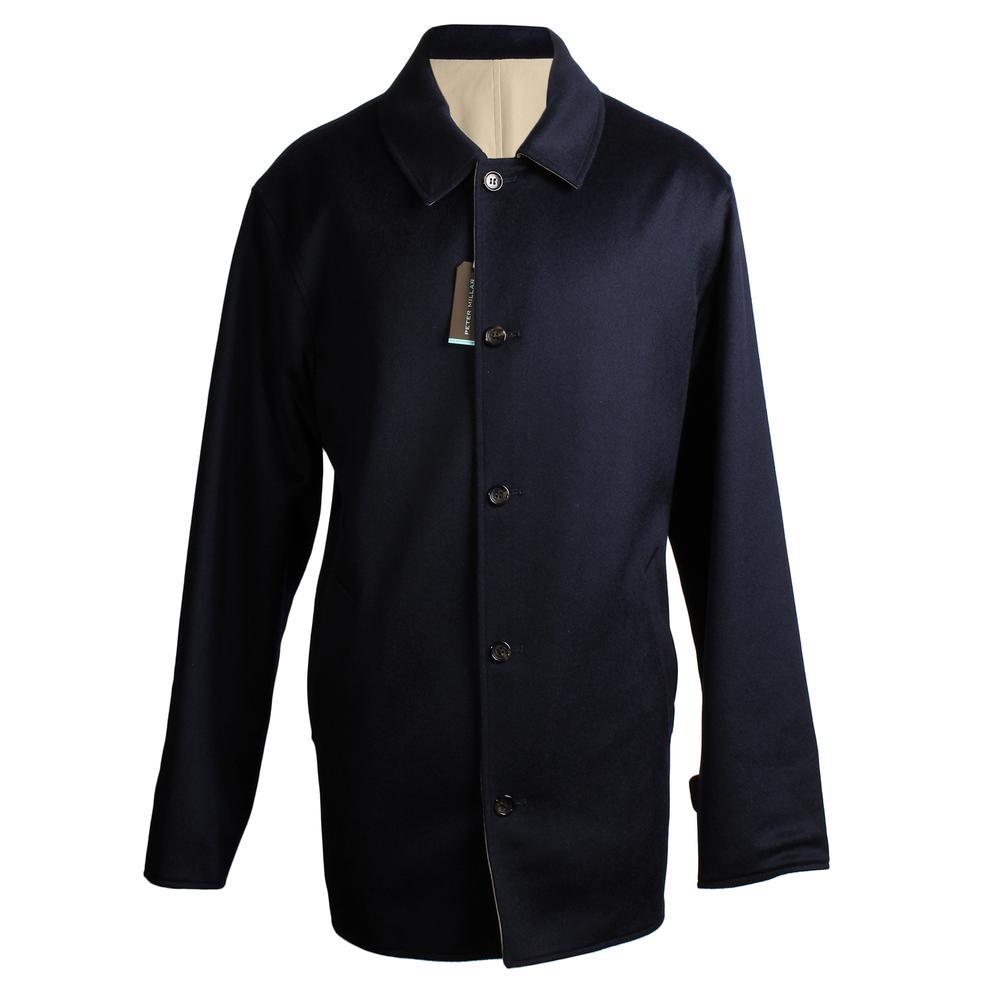 Peter Millar Size Large Reversible Cashmere Coat