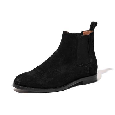 Lanvin Size 9 Suede Chelsea Boots