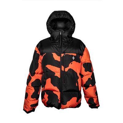 Marcelo Burlon Size Medium Camo Puffer Jacket