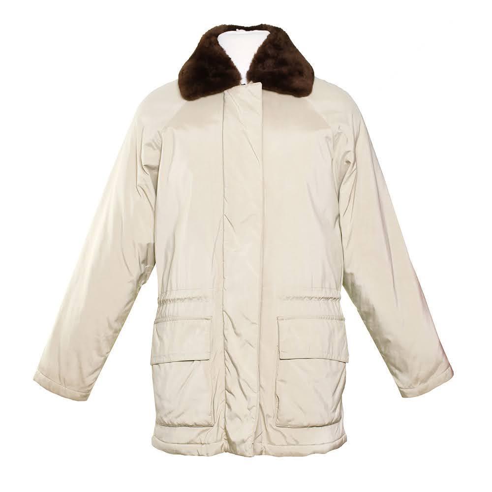 Loro Piana Size Small Tan Coat