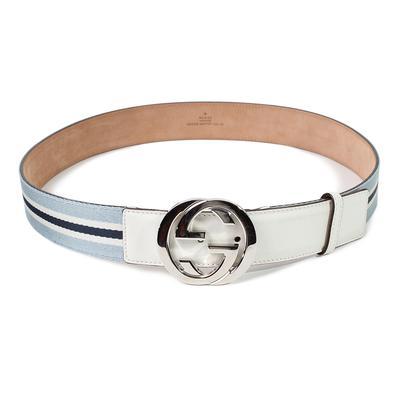 Gucci Size 40 Web Belt