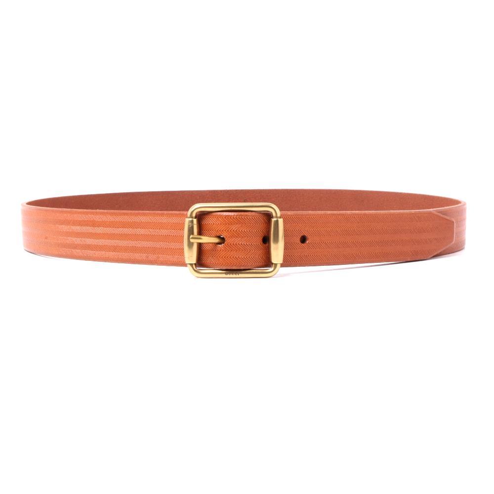 Gucci Size 36 Brown Belt