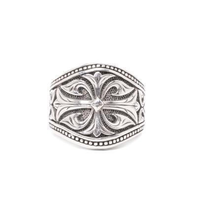 Scott Kay Spartan Shield Ring