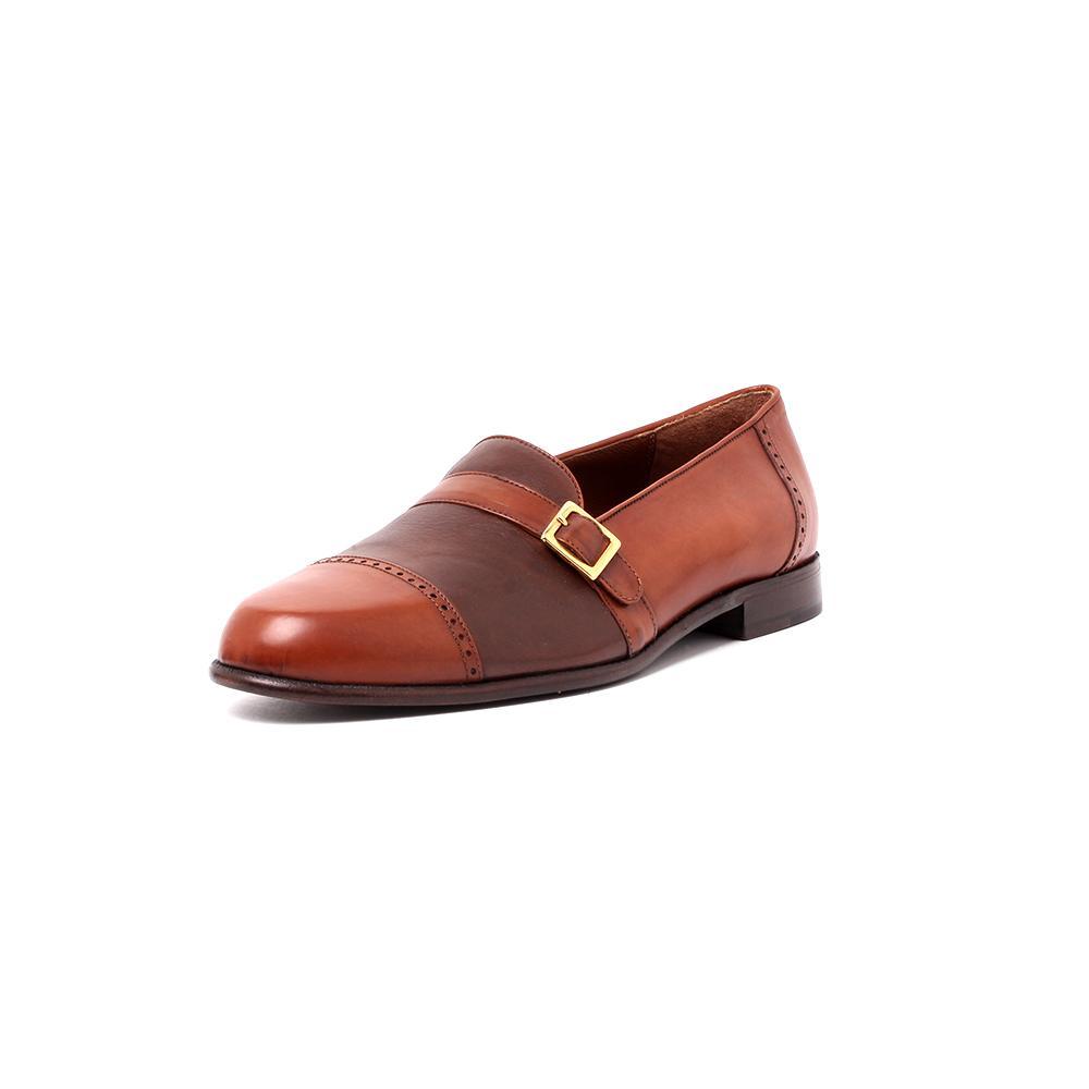 Daniele Ferrandini Size 8 Leather Shoe