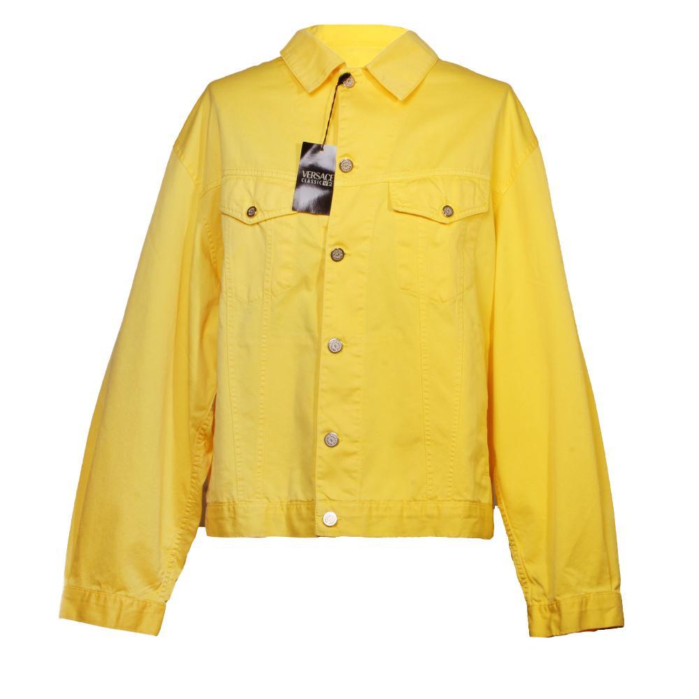 Versace Size Xxl Yellow Jacket