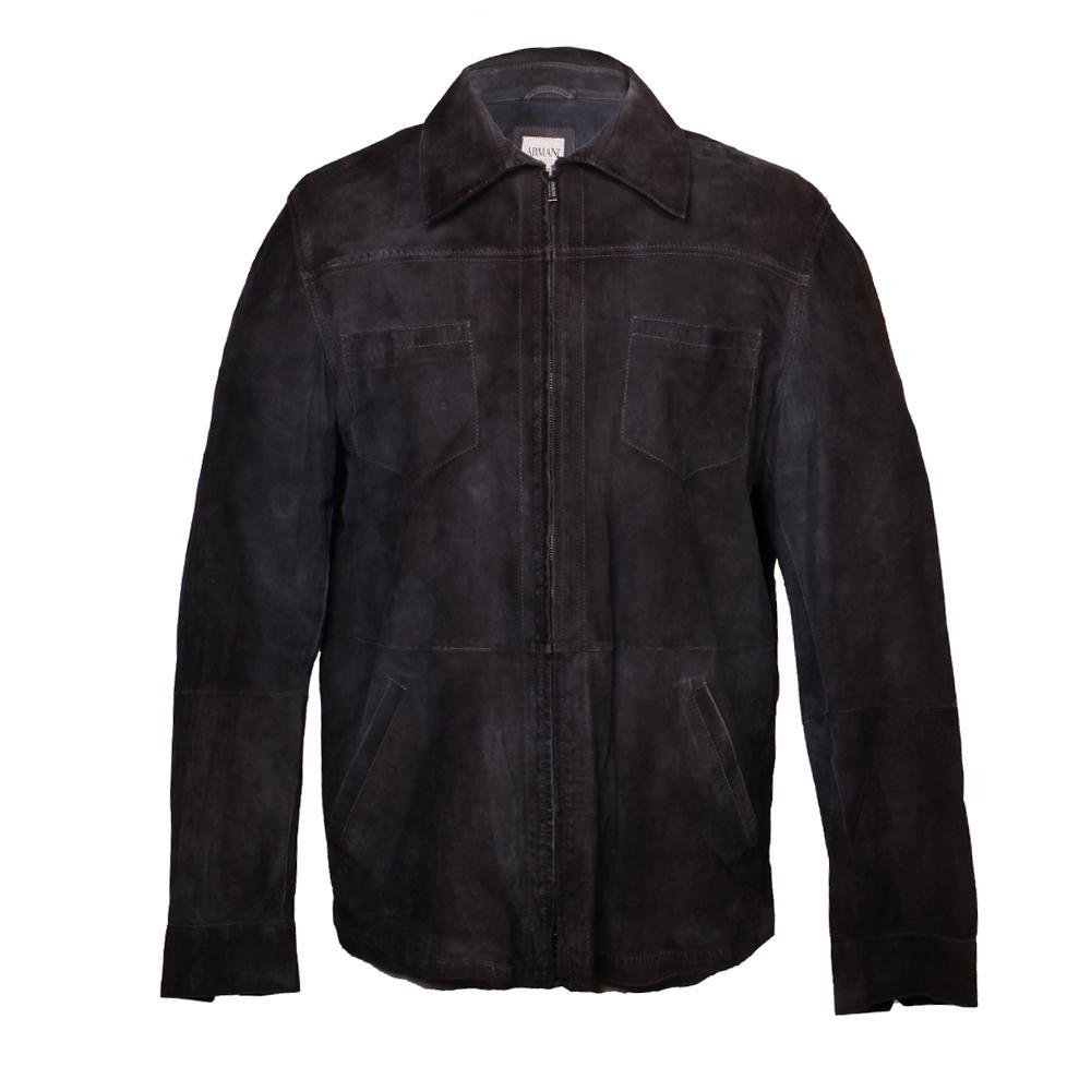 Armani Collezioni Size 42 Suede Jacket