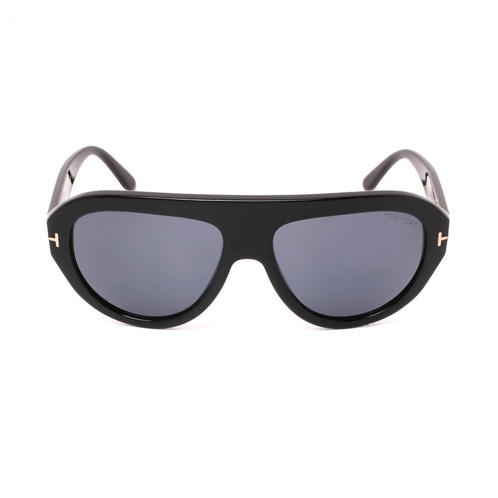 Tom Ford Black Acetate Sunglasses