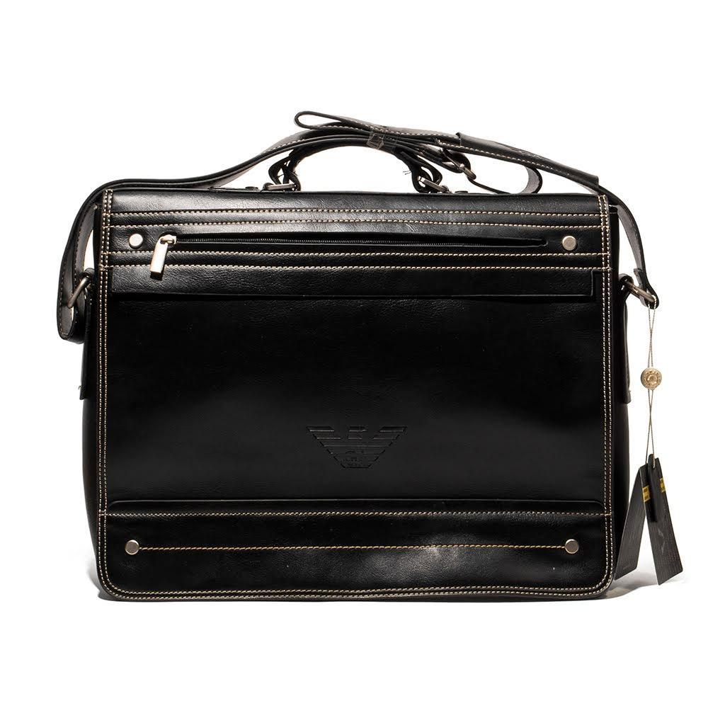 Vintage Giorgio Armani Leather Briefcase