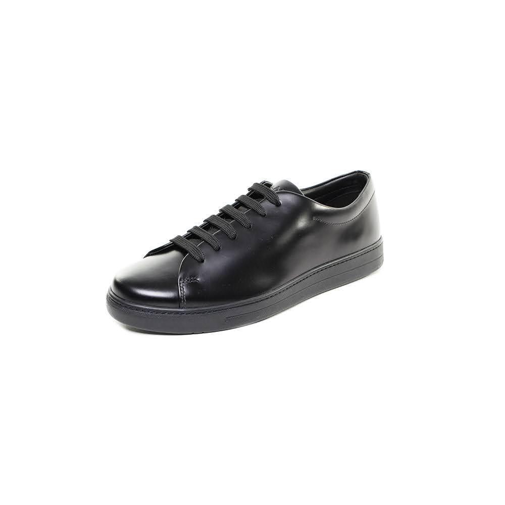 Prada Size 9.5 Leather Sneakers