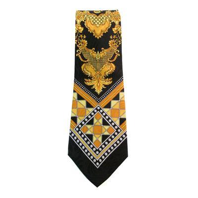 Vintage Black Versace Tie